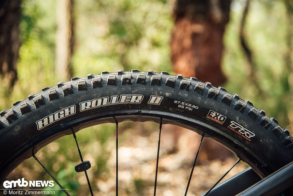 e9462ddc7c1d5f On test  Mondraker E-Crusher RR+  Black Trail-Rocket with modern ...