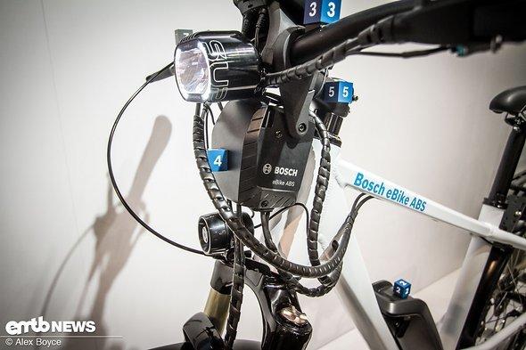 Das Bosch ABS, das wir bereits ausprobieren konnten