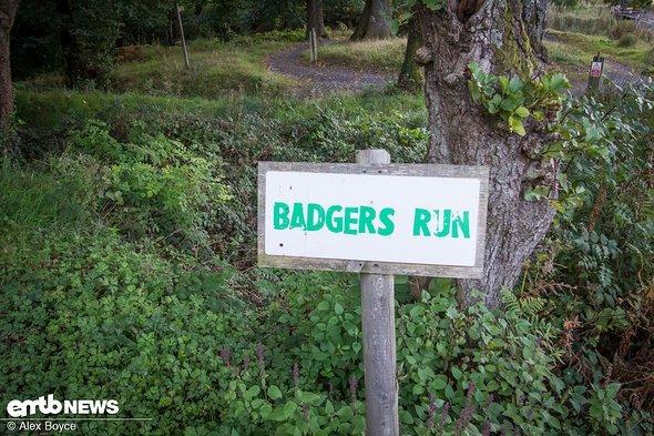 Dies ist der einfachste Trail hier