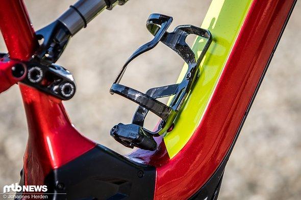 Ein E-Bike mit Flaschenhalter