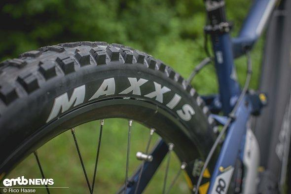 Breite Maxxis-Reifen