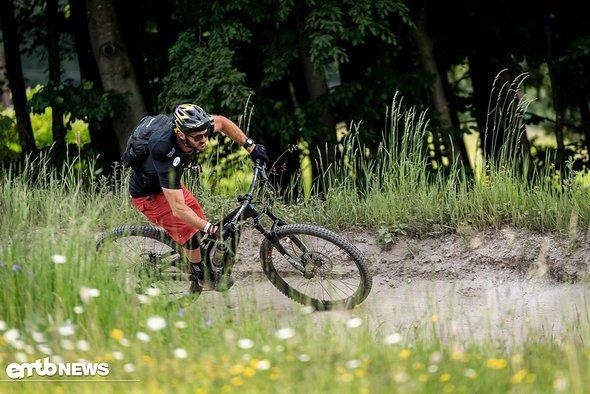 Eine ordentliche Position auf dem Rad ist oft schon die halbe Miete
