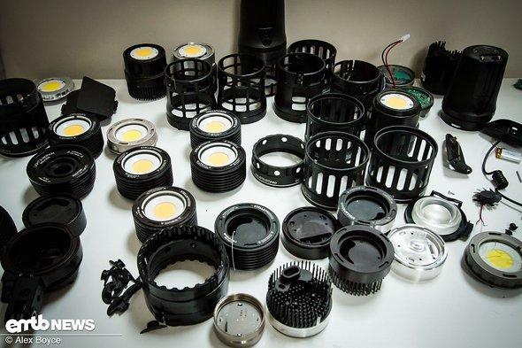 Bauteile für Lichter