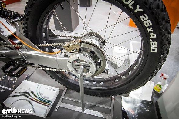 Das sieht stark nach einer Motorrad-Bremse aus