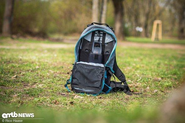 Für den Bosch PowerPack wurde dieser Rucksack entwickelt