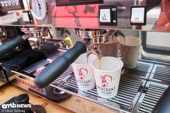 ...und zauberte einen unfassbar guten Kaffee durch die Pipelines