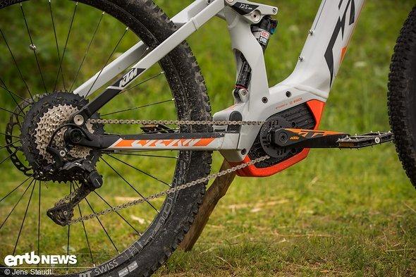 Der Bosch CX Motor sorgt für den Vortrieb
