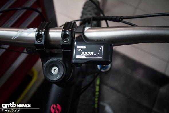 Das Bike hat schon einige tausend Kilometer auf dem Buckel.