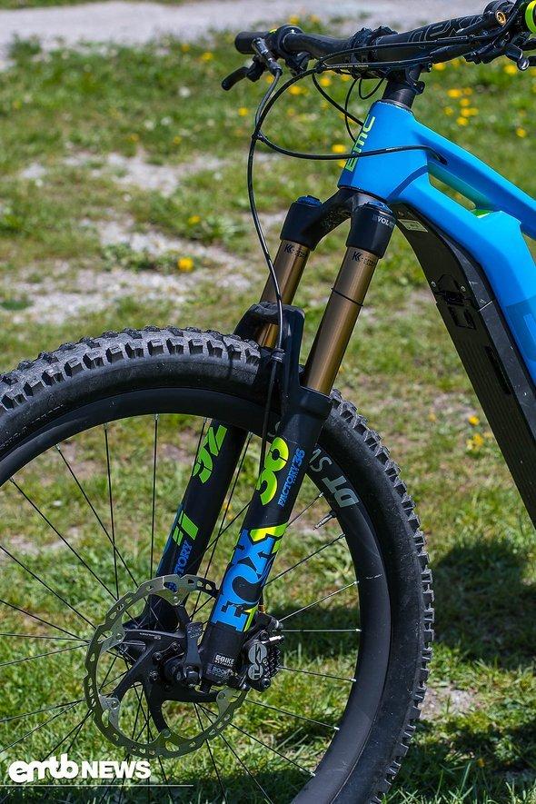 Fox 36-Federgabel in der E-Bike-Ausführung