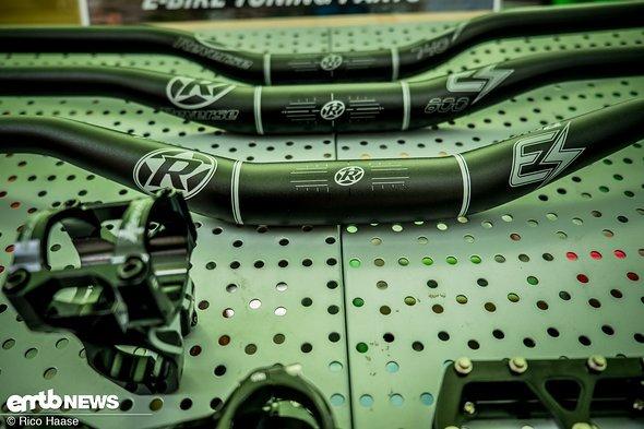 Reverse hatte seine speziellen E-Bike-Komponenten dabei und zeigte ...