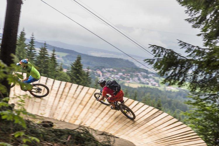 Der Bosch Uphill Flow Trail