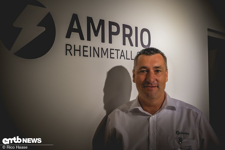 Alexander Baumann, Sales & Marketing bei Amprio, präsentiert uns den neuen Motor