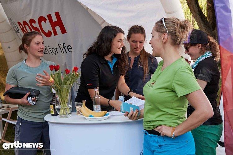 Tech Talk am Bosch Stand