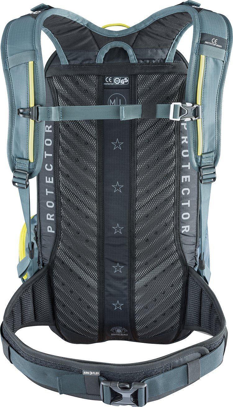 Liteshield Air System für gute Luftzirkulation am Rücken