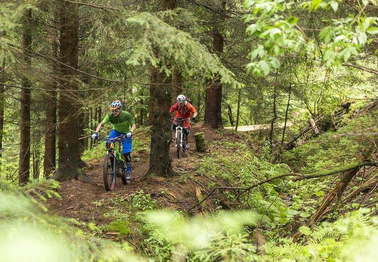 Der Trail soll für verschiedene Könnerstufen konzipiert sein