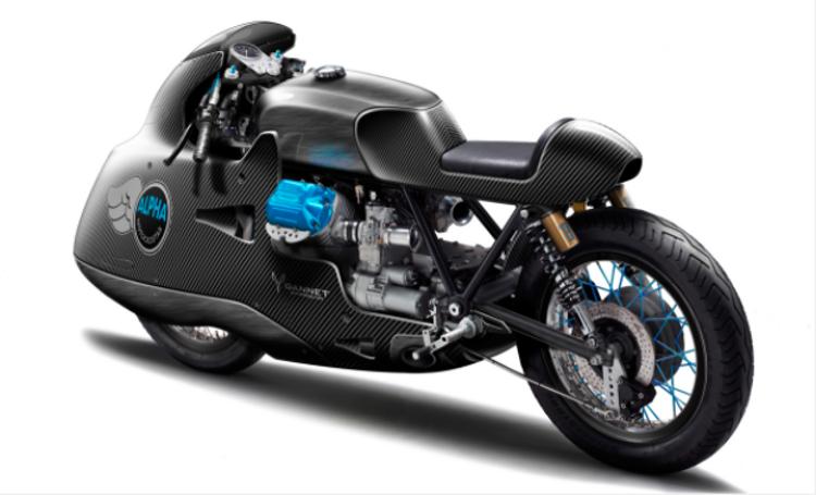 Motorräder zu modifizieren gelingt ALPHA gut