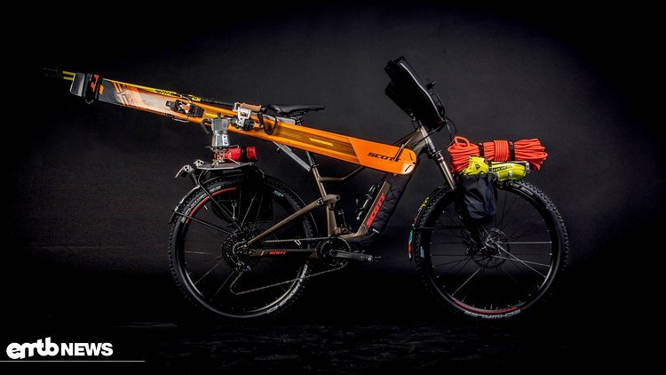 das e bike f r die skitour bikepacking mit dem neuen. Black Bedroom Furniture Sets. Home Design Ideas