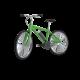 Ein klassisches Fahrrad mit Pendix Nachrüstsatz