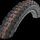 Der voluminöse Schwalbe Eddy Current Rear hat sich die Profilgestaltung bei Motorrad-reifen abgeschaut und soll viel Grip generieren